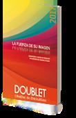 Portada del catálogo general 2017 Doublet