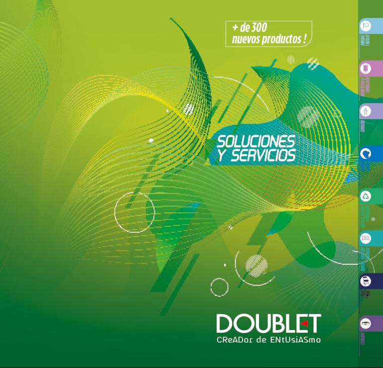 ¡Presentamos el Catálogo DOUBLET 2020!