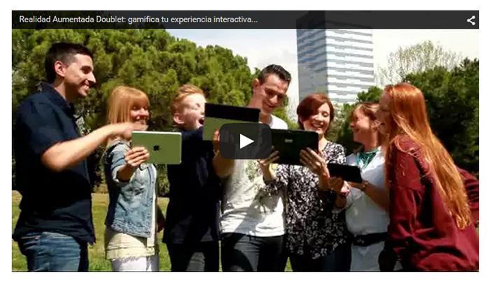Realidad Aumentada Doublet: gamifica tu experiencia interactiva...